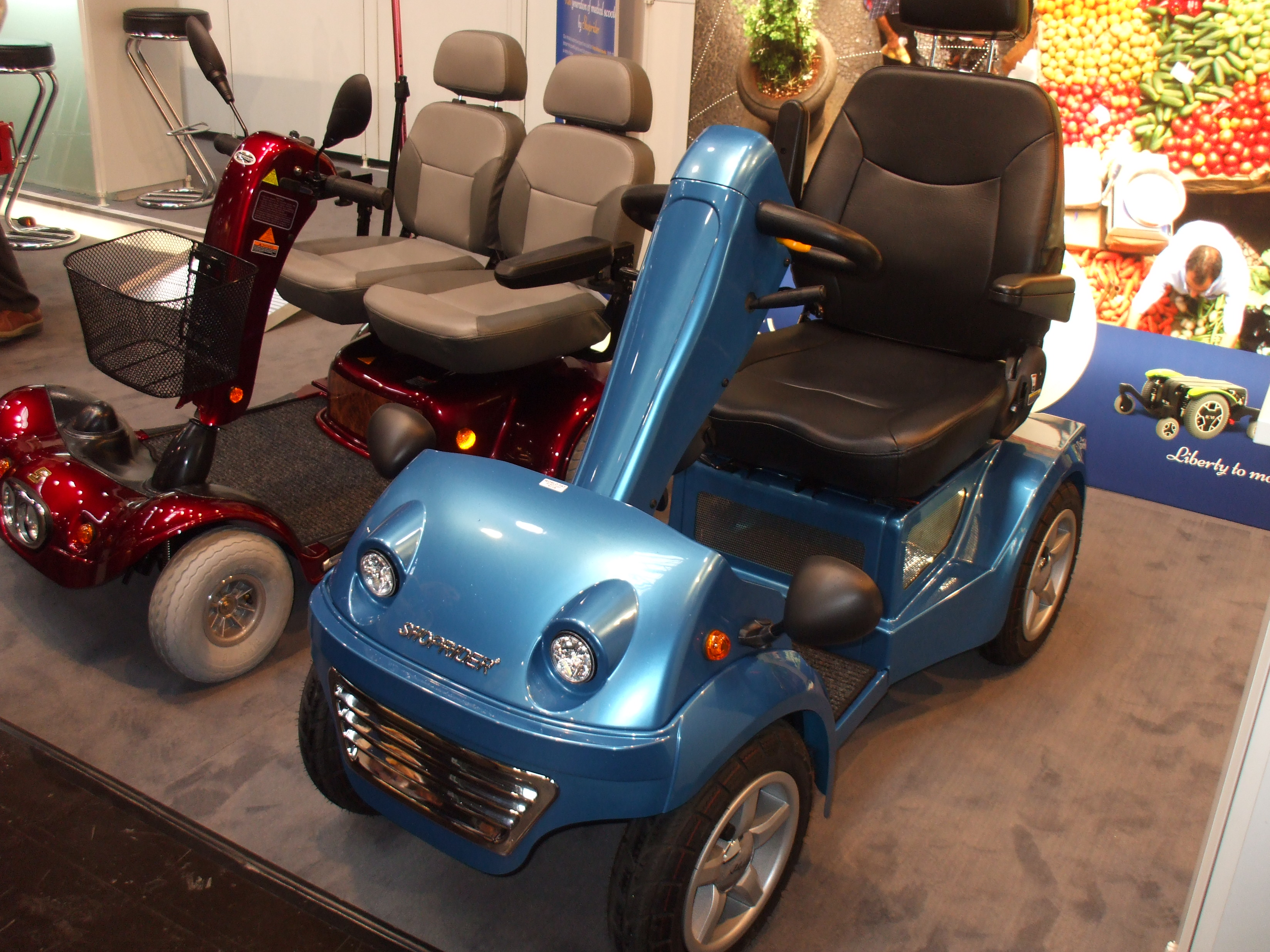 Elektrický vozík S1500 - Novinka 2018